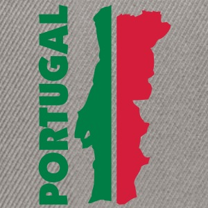 portugal_umriss_flagge_50 Pullover - Snapback Cap