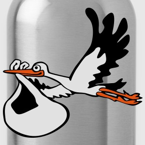 Stork with Baby T-Shirts - Water Bottle