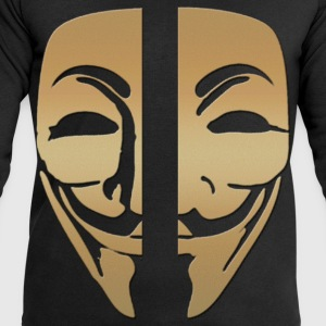 Mask anonymous gold - Men's Sweatshirt by Stanley & Stella