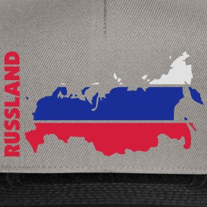 russland_umriss_flagge_50 Sacs - Casquette snapback