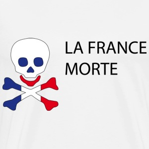 La France Morte - Politique Badges - T-shirt Premium Homme