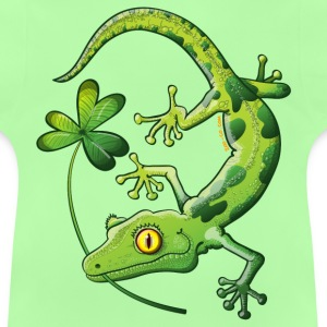 Saint Patrick's Day Gecko Kids' Tops - Baby T-Shirt
