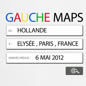 gauche maps - Hollande Badges - Tablier de cuisine