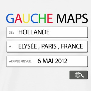 gauche maps - Hollande Badges - T-shirt Premium Homme