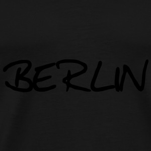 Berlin Caps & luer - Premium T-skjorte for menn