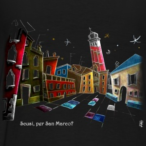Campo Sant'Angelo in Venice Italy - Men's Premium T-Shirt