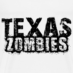 texas zombies Sweaters - Mannen Premium T-shirt