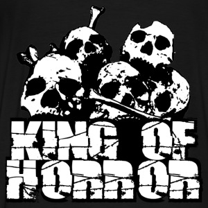 king of horror Sweatshirts - Herre premium T-shirt