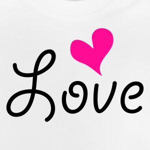 Love with heart Kinder T-Shirts - Baby T-Shirt