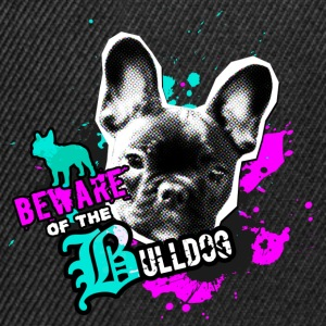Bully, french bulldog - Attention danger Kids' Tops - Snapback Cap