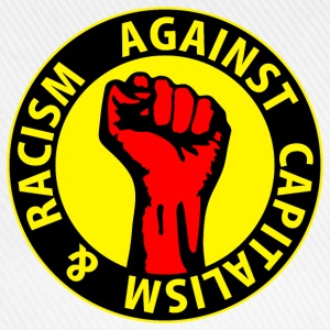 Digital - against capitalism & racism - against capitalism working class war revolution Bottoni/Spille - Cappello con visiera