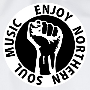 Digital - Enjoy Northern Soul Music - nighter keep the faith Knappar - Gymnastikpåse