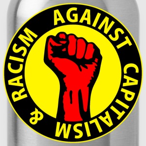Digital - against capitalism & racism - against capitalism working class war revolution T-shirts - Vattenflaska