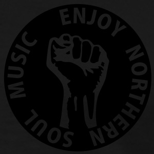 1 colors - Enjoy Northern Soul Music - nighter keep the faith Børne sweatshirts - Herre premium T-shirt