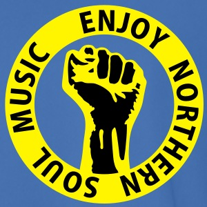 2 colors - Enjoy Northern Soul Music - nighter keep the faith Jackor & västar - Fotbollströja herr