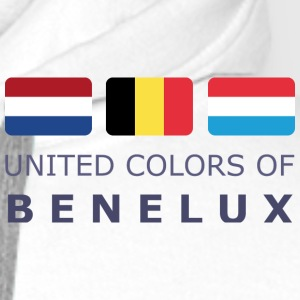 Polo Shirt UNITED COLORS OF BENELUX dark-lettered - Mannen Premium hoodie