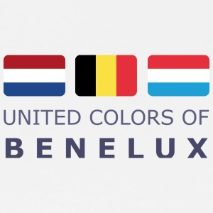 Polo Shirt UNITED COLORS OF BENELUX dark-lettered - Männer Premium T-Shirt