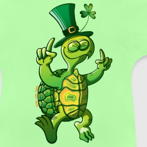 Saint Patrick's Day Turtle Kids' Tops - Baby T-Shirt