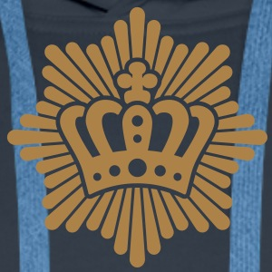 Royal Crown | GB | King | Queen T-Shirts - Männer Premium Hoodie
