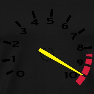 Tachometer 10,000rpm - 01 Hoodies & Sweatshirts - Men's Premium T-Shirt