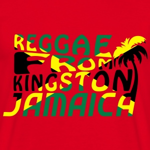 reggae from kingston jamaica Tröjor - T-shirt herr