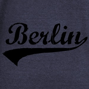 Berlin Schriftzug Bags  - Women's Boat Neck Long Sleeve Top