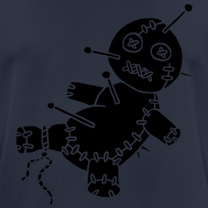 1 col - Voodoo Puppe Doll Funny Game Hawaii Tattoo Horror Psychopath Sweaters - mannen T-shirt ademend