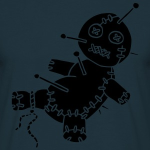 1 col - Voodoo Puppe Doll Funny Game Hawaii Tattoo Horror Psychopath Sweatshirts - Herre-T-shirt