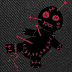 2 col - Voodoo Puppe Doll Funny Game Hawaii Tattoo Horror Psychopath Polo - Snapback Cap