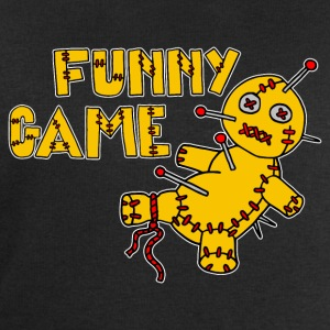 Digital - Voodoo Puppe Doll Funny Game Hawaii Tattoo Horror Psychopath T-shirts - Sweatshirt herr från Stanley & Stella
