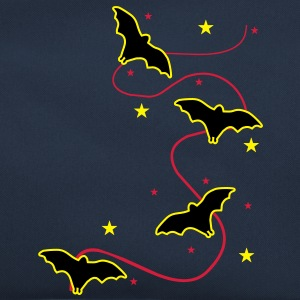 3 col - fledermaus bat sterne stars vampire darkness blood blutsauger Sweat-shirts - Sac Retro