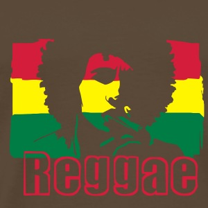 Reggae music Jamaica's flag. Bags  - Men's Premium T-Shirt