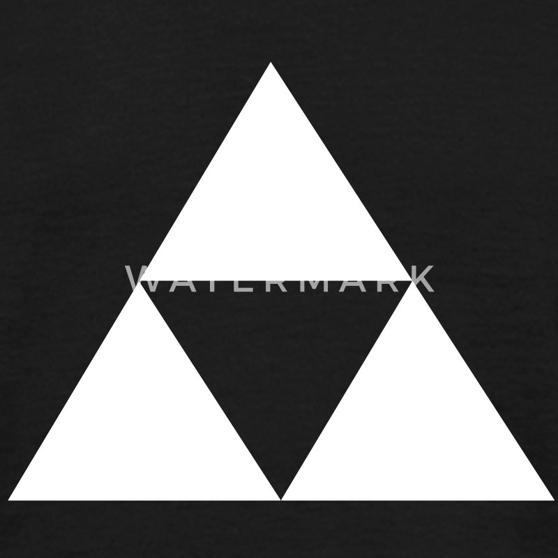 Triforce Blanche Tee shirts - T-shirt Homme