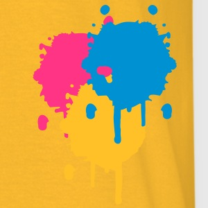 Three bright color spots in graffiti style Jackets & Vests - Men's T-Shirt