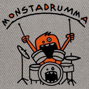 Monster Drummer Sweat-shirts - Casquette snapback