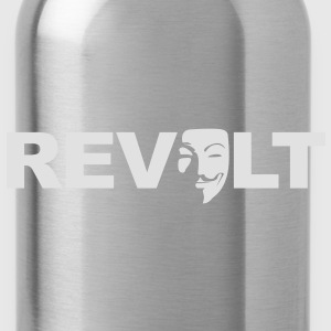 Revolt - Guy Fawkes - Trinkflasche