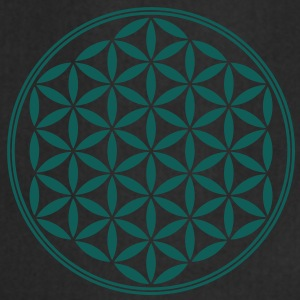 Vector - Flor de la vida - 02, 1c, sacred geometry, energy, symbol, powerful, healing, protection, cl Sudadera - Delantal de cocina