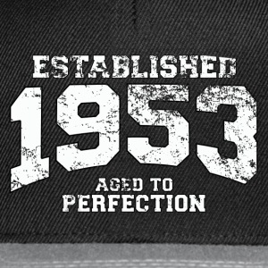 established 1953 - aged to perfection (pl) Koszulki - Czapka typu snapback
