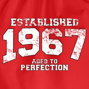 established 1967 - aged to perfection (fr) Tee shirts - Sac de sport léger