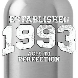 Geburtstag - established 1993 - aged to perfection - Trinkflasche