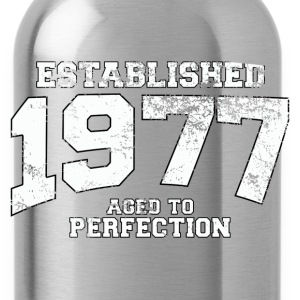 established 1977 - aged to perfection (uk) Hoodies & Sweatshirts - Water Bottle