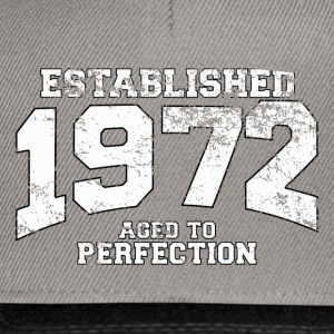 Geburtstag - established 1972 - aged to perfection - Snapback Cap