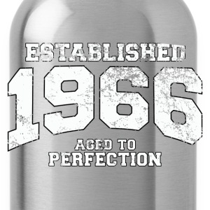 Geburtstag - established 1966 - aged to perfection - Trinkflasche