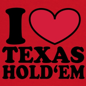 I love Texas Hold'em Bags  - Baby Long Sleeve T-Shirt