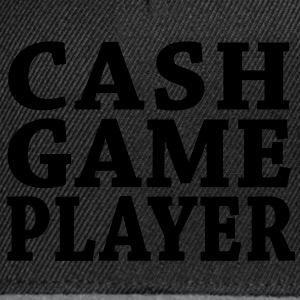 Cash Game Player T-Shirts - Snapback Cap