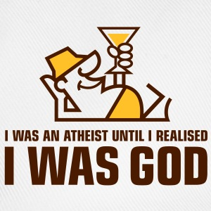 I Was An Atheist 2 (2c)++ T-shirts - Basebollkeps