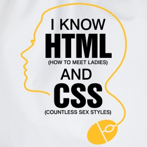 I Know Html 3 (2c)++ Gensere - Gymbag