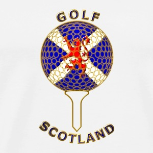 golf scotland crest_b Mugs  - Men's Premium T-Shirt