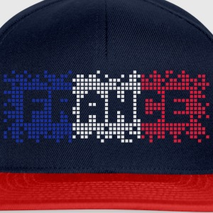 Peacock-blue France  T-Shirts - Snapback Cap