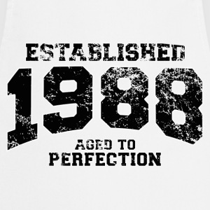 established 1988 - aged to perfection(fr) Tee shirts - Tablier de cuisine